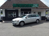 USED 2009 59 VOLVO V50 2.0 D S 5d 136 BHP FINANCE AND PART EXCHANGE WELCOME. 3 MONTHS WARRANTY. ALL CARS HAVE A YEAR MOT AND A FRESH SERVICE.