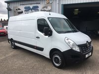 2015 RENAULT MASTER 2.3 DCI LM35 LWB BUSINESS 125 BHP ULTRA LOW 39K MILES £8495.00