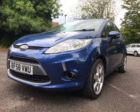 USED 2009 58 FORD FIESTA 1.2 STYLE PLUS 5d 81 BHP