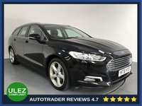 USED 2016 16 FORD MONDEO 2.0 TITANIUM TDCI 5d AUTO 177 BHP FORD HISTORY - 1 OWNER - EURO 6 - SAT NAV - PARKING SENSORS - AIR CON - BLUETOOTH - DAB - CRUISE - CD