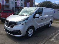USED 2016 16 RENAULT TRAFIC 1.6 SL27 SPORT DCI S/R P/V 1d 115 BHP 1 OWNER