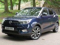 2015 SSANGYONG TIVOLI  1.6 ELX 5d AUTO 126 BHP £8888.00