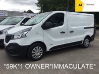 2015 RENAULT TRAFIC 1.6 SL27 BUSINESS DCI 115 BHP*ONE OWNER*LOW MILES*IMMACULATE* £6995.00