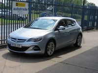 2015 VAUXHALL ASTRA 1.6 TECH LINE GT CDTi eco S/S 5dr Sat nav Cruise Bluetooth  £6500.00