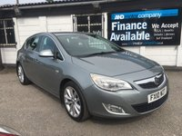 2010 VAUXHALL ASTRA 1.6 SE 5d 8 SERVICE STAMPS-B/TOOTH-LEATHER £3990.00