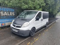 USED 2008 08 VAUXHALL VIVARO 2.0 2700CDTI SWB 5D 115 BHP **NO VAT** RAC WARRANTY  NATIONWIDE DELIVERY - MOT & SERVICE - ELECTRIC WINDOWS