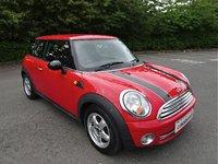 2008 MINI HATCH ONE 1.4 ONE 3d 94 BHP £2990.00