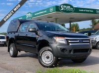 USED 2013 63 FORD RANGER 2.2 D XL DOUBLE CAB One Owner, Truck Man Top, Air Con, Competitive Low Rate Finance Arranged.