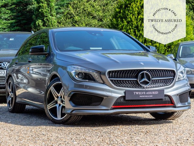USED 2015 15 MERCEDES-BENZ CLA 2.0 CLA250 4MATIC ENGINEERED BY AMG 5d AUTO 208 BHP