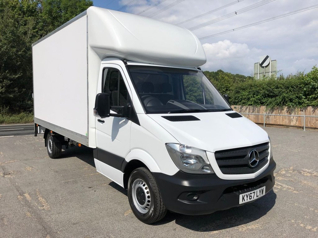USED 2017 67 MERCEDES-BENZ SPRINTER 2.1CDI 314 LWB LUTON TAIL-LIFT (EURO 6)(140 BHP)