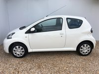 USED 2013 63 TOYOTA AYGO 1.0 VVT-I ACTIVE PLUS 3d 68 BHP