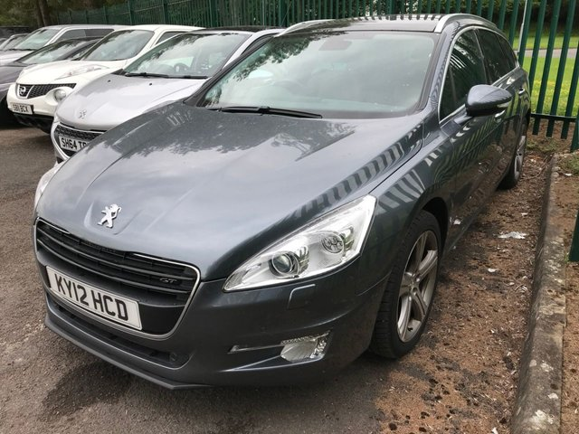 2012 Peugeot 508 GT SW HDI £7,390