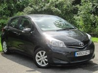 USED 2013 63 TOYOTA YARIS 1.3 VVT-I TR 5d AUTO * 128 POINT AA INSPECTED *