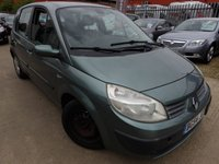 2004 RENAULT SCENIC 1.4 EXPRESSION 16V 5d 97 BHP £350.00