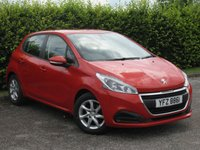 USED 2015 15 PEUGEOT 208 1.0 ACTIVE 5d * BLUETOOTH * APPLE CAR PLAY * MIRROR SCREEN * INTERNET CONNECTION SERVICE * DAB RADIO * TOUCHSCREEN * AUX * USB *