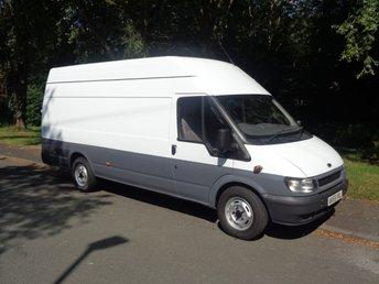 2005 FORD TRANSIT 2.4 350E 1d 115 BHP LWB JUMBO £3995.00