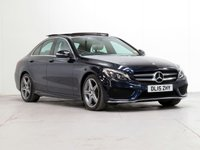 USED 2015 15 MERCEDES-BENZ C CLASS 2.1 C250 BLUETEC AMG LINE PREMIUM 4d AUTO 204 BHP [£3,835 OPTIONS] PANROOF LED PARKING-PACK FMSH
