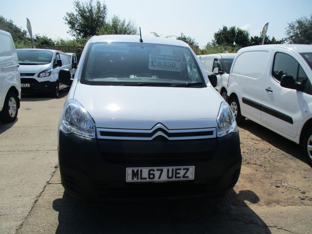 2017 67 CITROEN BERLINGO 1.6 HDI TURBO DIESEL 850 ENTERPRISE L1 AD BLUE HDI 100 BHP