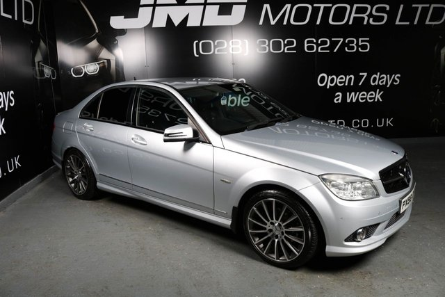 2009 58 MERCEDES-BENZ C CLASS C220 CDI SPORT NIGHT EDITION STYLE AUTO 168 BHP (FINANCE AND WARRATY)