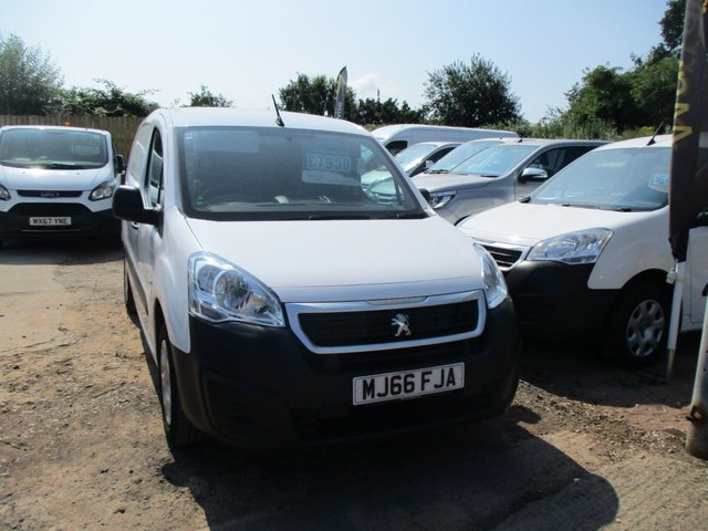 2016 66 PEUGEOT PARTNER 1.6 TURBO DIESEL HDI PROFESSIONAL L1 100 BHP ADD BLUE 3 SEATER