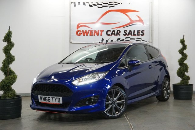 USED 2016 66 FORD FIESTA ZETEC S 1.0 ST-LINE 3d 124 BHP WOW ONLY 20,000 MILES  WOW GREAT COLOUR , UNBEATABLE VALUE . GREAT PCP DEALS AVAILABLE