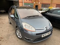 USED 2008 57 CITROEN C4 GRAND PICASSO 2.0 EXCLUSIVE HDI EGS 5d 135 BHP