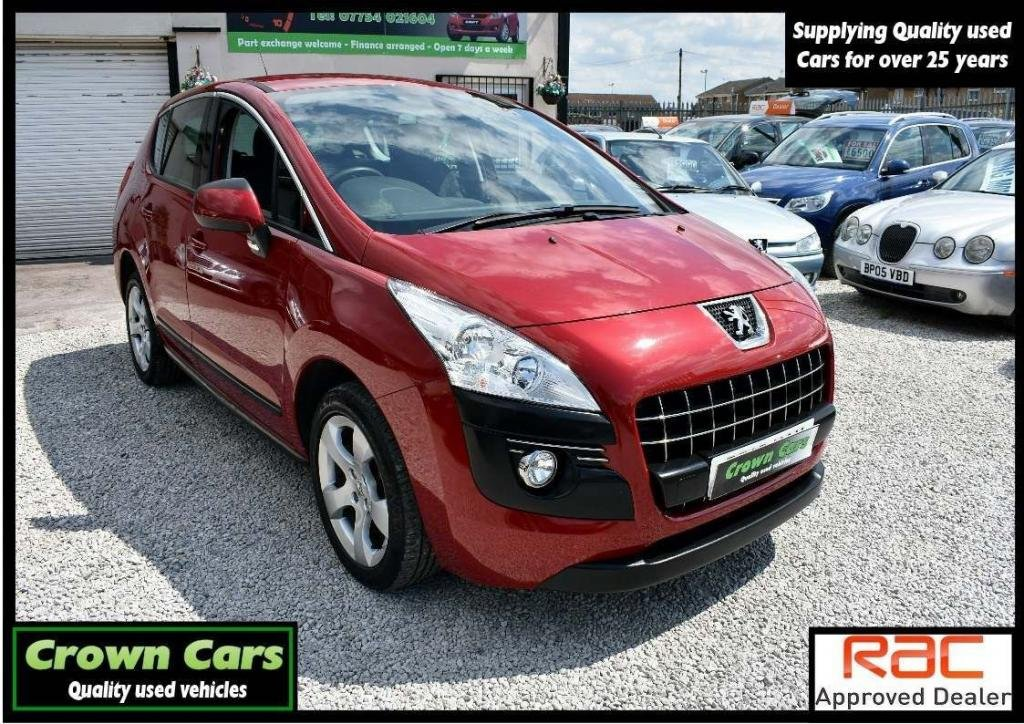 USED 2013 13 PEUGEOT 3008 1.6 HDi FAP Active 5dr 3 MONTH WARRANTY & PDI CHECKS