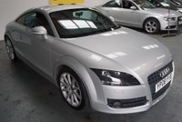 USED 2008 08 AUDI TT 2.0 S Tronic 3dr FULL AUDI S/H-RED LEATHERS