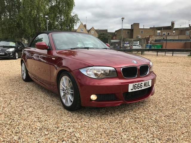 USED 2012 12 BMW 1 SERIES 2.0 120d M Sport 2dr Genuine Low Mileage Cabriolet