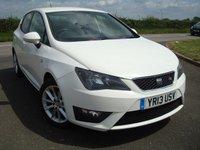 2013 SEAT IBIZA 1.6 CR TDI FR 5d 104 BHP £3695.00