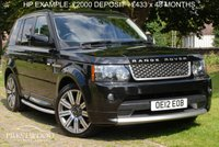 USED 2012 12 LAND ROVER RANGE ROVER SPORT 3.0 SDV6 AUTOBIOGRAPHY AUTO [255 BHP]