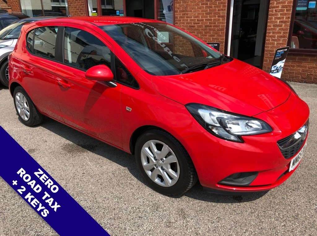 USED 2015 65 VAUXHALL CORSA 1.2 DESIGN CDTI ECOFLEX S/S 5DOOR 74 BHP ZERO Road Tax   :   DAB   :   USB & AUX Sockets   :   Cruise Control / Speed Limiter      Phone Bluetooth Connectivity   :   Black Cloth Upholstery   :   Cargo / Load Cover   :   2 Keys      Comprehensive Service History