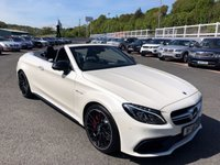 USED 2018 18 MERCEDES-BENZ C CLASS 4.0 AMG C 63 S PREMIUM 2d 503 BHP Cost £69,250 & only 2,200 miles very high spec S Model