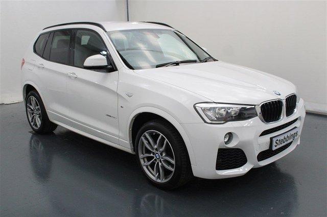 2016 16 BMW X3 2.0 XDRIVE20D M SPORT 5d 188 BHP