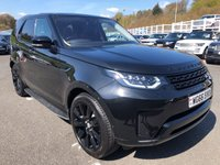 USED 2017 66 LAND ROVER DISCOVERY 3.0 TD6 HSE LUXURY 5d AUTO 255 BHP 12,500 miles, rear screen entertainment, 21 inch, Black Pack ++