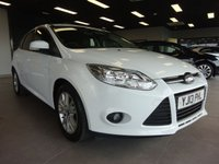 USED 2014 13 FORD FOCUS 1.0 EDGE 5d 99 BHP £20 VED | PARKING SENSORS | AIR CON | 2x KEYS