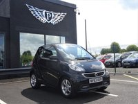 USED 2014 63 SMART FORTWO 1.0 EDITION 21 MHD 2d AUTO 71 BHP LOW MILEAGE,MOT,SERVICE,WARRANTY INCLUDED