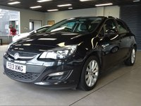 USED 2013 13 VAUXHALL ASTRA 1.4 ACTIVE 5d 98 BHP AA WARRANTY,  MOT AND SERVICE INCLUDED