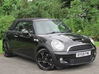 USED 2009 59 MINI CONVERTIBLE 1.6 COOPER S 2d  * 6 SPEED MANUAL GEARBOX * 12 MONTHS FREE AA MEMBERSHIP *