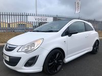 USED 2012 VAUXHALL CORSA 1.2 LIMITED EDITION 3d 83 BHP