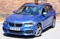USED 2015 65 BMW X1 2.0 20d M Sport Auto xDrive (s/s) 5dr PAN ROOF-NAV PLUS-HUD-LEATHER
