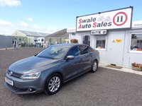 USED 2013 13 VOLKSWAGEN JETTA 1.6 LTD EDITION TDI BLUEMOTION TECHNOLOGY 4d 104 BHP £32 PER WEEK, NO DEPOSIT - SEE FINANCE LINK