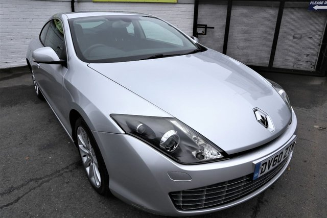 USED 2010 60 RENAULT LAGUNA 2.0 TOMTOM EDITION DCI 3d 150 BHP * SMART LOOKING COUPE *