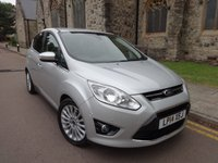 USED 2014 14 FORD C-MAX 1.6 TITANIUM TDCI 5d 114 BHP ++ ACTIVE PARK ASSIST ++