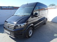 USED 2018 18 VOLKSWAGEN CRAFTER CR35 TDI 2.0 CR35 TDI M H/R P/V STARTLINE 1d 138 BHP VW CRAFTER STARTLINE WITH AIR CON LOW MILES EURO 6 ULEZ COMPLIANT