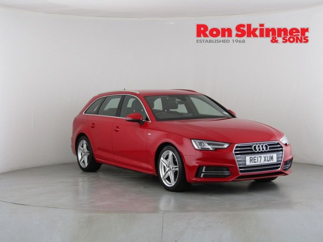 View our 2017 17 AUDI A4 2.0 AVANT TDI S LINE 5d 188 BHP