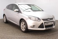 USED 2013 63 FORD FOCUS 1.0 TITANIUM NAVIGATOR 5DR SAT NAV 99 BHP FULL SERVICE HISTORY + SATELLITE NAVIGATION + PARKING SENSOR + BLUETOOTH + CRUISE CONTROL + CLIMATE CONTROL + MULTI FUNCTION WHEEL + DAB RADIO + ELECTRIC WINDOWS + ELECTRIC MIRRORS + 16 INCH ALLOY WHEELS
