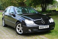 USED 2007 57 MERCEDES-BENZ C CLASS C180 KOMPRESSOR AVANTGARDE SE AUTO [143 BHP] 4 DOOR SALOON