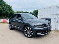 2016 VOLKSWAGEN TIGUAN 2.0 R LINE TDI BMT 4MOTION DSG 5d AUTO 148 BHP £22950.00