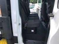 USED 2018 18 FORD TRANSIT  350 130BHP LWB D/CAB L5 FACTORY DROPSIDE PICKUP EURO 6